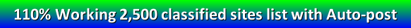 free classified ad posting sites list without registration