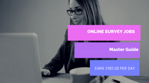 Online Paid Survey Jobs (Master Guide) that Pay Rs-1985.00 Per Day in India
