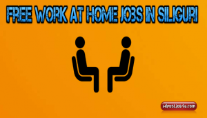 free work at home jobs in Siliguri – You wouldn't want to miss at all!!!