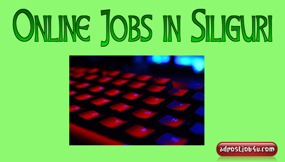 Online Jobs in Siliguri - Daily Bank Payment ISO 9001:2008