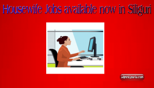Work From Home -Housewife Jobs now available in Siliguri