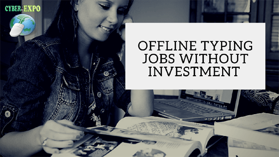 Offline Typing Jobs Without Investment Daily 3980/- Bank PayTM Payment