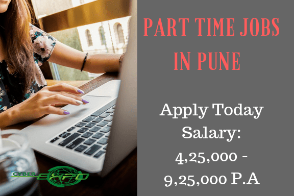 Part time Jobs in Pune back office jobs in pune